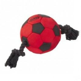 Nobby XL míč nylon 35cm černá/červená