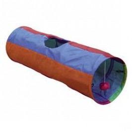 Nobby Rainbow šustivý tunel 25x86,5cm fialová/oranžová