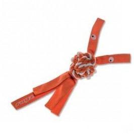 Rogz CowBoyz provazová 7,8cm oranžová