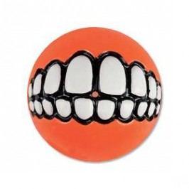 Rogz Grinz míček 7,8cm oranžová
