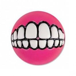 Rogz Grinz míček 7,8cm růžová