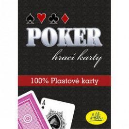 Albi Poker plastové karty červené