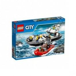 LEGO® CITY POLICE 60129 Policejní hlídková loď