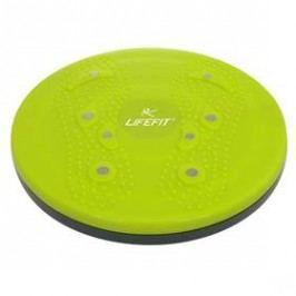 Rotační disk LIFEFIT Magnetic Rotana 25 cm - zelená