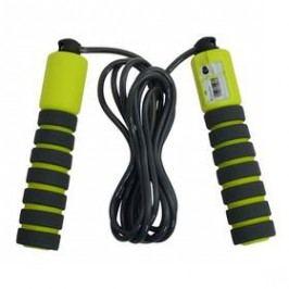 LIFEFIT Counter Rope, dl. 280 cm černé/zelené