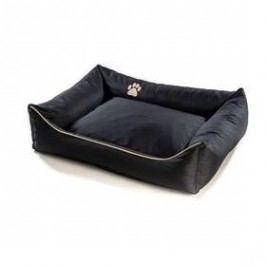 Argi pro psa obdélníkový - 100x80 cm / snímatelný potah černý