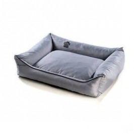 Argi pro psa obdélníkový - 120x90 cm / snímatelný potah šedý