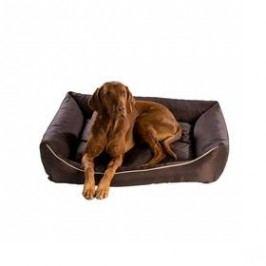 Argi pro psa obdélníkový - 90x70 cm / snímatelný potah hnědý