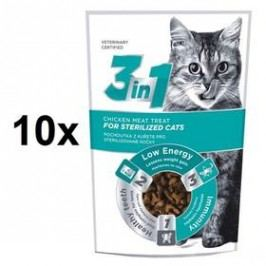DIBAQ 3in1 Cat Sterile kuřecí 10 x 80g