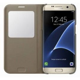 Samsung S-View pro Galaxy S7 Edge (EF-CG935P) (EF-CG935PFEGWW) zlaté