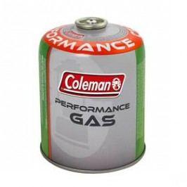 Coleman C 500 Performance (440 g plynu, ventilová šroubovací) bílá/zelená