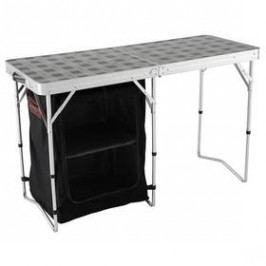 Kempingový stůl Coleman Table & Storage s úložnými prostory 119 x 48 cm