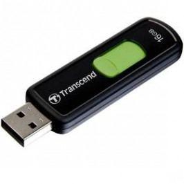 Transcend JetFlash 500 16GB (TS16GJF500) černý/zelený