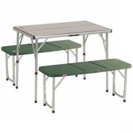Coleman PACK-AWAY™ TABLE FOR 4 zelený/hliník