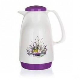 BANQUET Lavender 0,95 l bílá barva/fialová barva