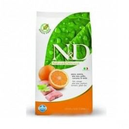 N&D Grain Free CAT Adult Fish & Orange 5 kg Kočky