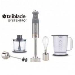 KENWOOD Triblade System Pro HDM 804 SI stříbrný/šedý