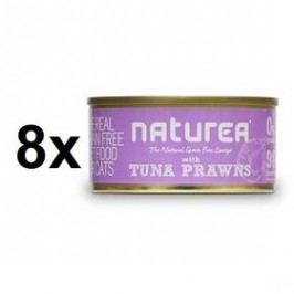Naturea GF Cat - Tuna, Prawns 8 x 80g