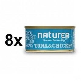 Naturea GF Cat - Tuna, Chicken 8 x 80g
