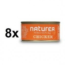 Naturea GF Cat - Chicken 8 x 80g