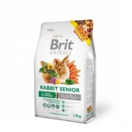 Brit Animals Rabbit Senior Complete pro hlodavce 1,5kg