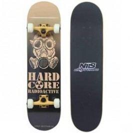 Nils Extreme Hardcore černý/hnědý Boardy, skateboardy