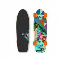 """Street Surfing Kicktail 28"""" Rocky Mountain modrý/zelený/hnědý/fialový"""