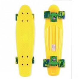 "Street Surfing Beach Board Summer Sun 22,5"" x 6,3""22,5"" x 6,3"" žlutý Boardy, skateboardy"