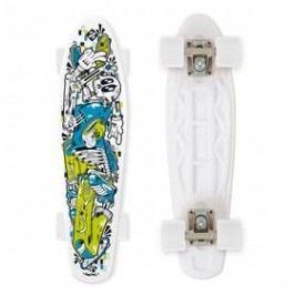 "Street Surfing Fuel Board Skelectron 21,6"" x 6,1"" bílý/modrý/zelený"