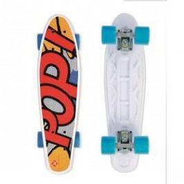 """Street Surfing Pop Board Popsi Yellow 21,6"""" x 6,1"""" bílý/červený/modrý/žlutý"""