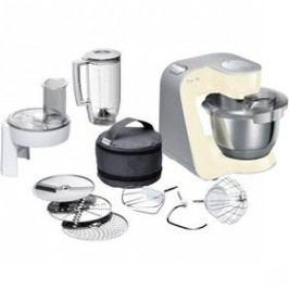 Bosch CreationLine MUM58920 stříbrný/krémový