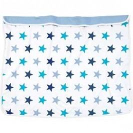 Dooky Blanket Blue Stars/Baby Blue