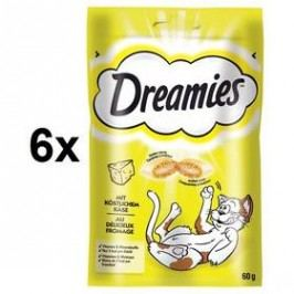 Dreamies sýrové 6 x 60g