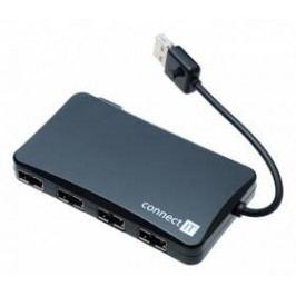 Connect IT USB 2.0 / 4x USB 2.0 (CI-141) černý
