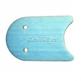 Plovací deska s otvory Yate Soft 48x31x4 cm - modrá/bílá