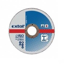 EXTOL CRAFT na kov, 5ks, 150x6,0x22,2mm