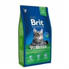 Brit Premium Cat Sterilised 8kg Kočky