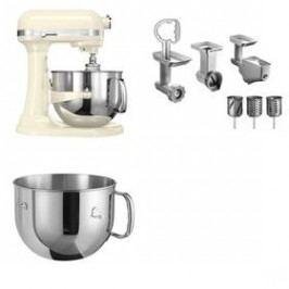 Set KitchenAid - kuchyňský robot 5KSM7580XEAC +  5KR7SB mísa 6,9 l + FPPC balíček s příslušenstvím
