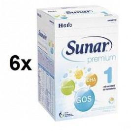 Sunar Premium 1, 600g x 6ks