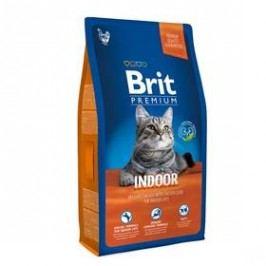 Brit Premium Cat Indoor 8kg Kočky