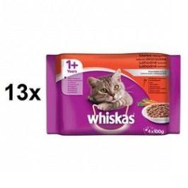 Whiskas v krémové omáčce 13 x (4x85g)