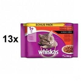 Whiskas Masový výběr ve šťávě 13 x (1 x 400g)