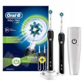 Oral-B Pro790 CrossAction černý/bílý