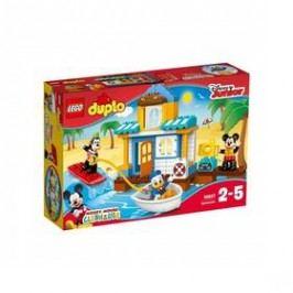 LEGO® DUPLO DISNEY 10827 Mickey a jeho kamarádi v domě na pláži