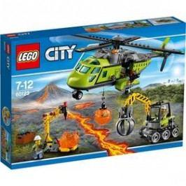 LEGO® CITY SOPEČNÍ PRŮZKUMNÍCI 60123 Sopečná zásobovací helikoptéra