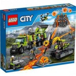 LEGO® City Sopeční průzkumníci 60124 Sopečná základna průzkumníků