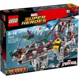 LEGO® SUPER HEROES SPIDERMAN 76057 Úžasný souboj pavoučích válečníků na mostě