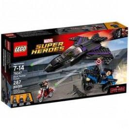 LEGO® SUPER HEROES 76047 Pronásledování Black Pantherem