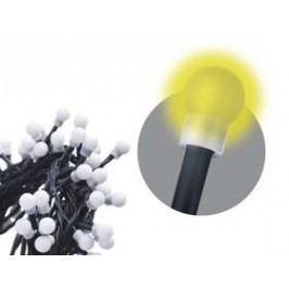 EMOS 200 LED, 20m, řetěz (kulička), teplá bílá, časovač, i venkovní použití (1534160015)
