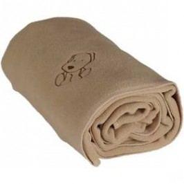 Kaarsgaren fleece s pejskem béžová
